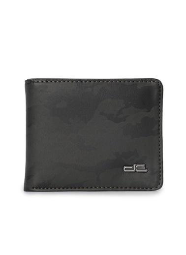 Deri Company Erkek Basic Cüzdan Kamuflaj Desenli Siyah (501 Sk) 113009 Siyah